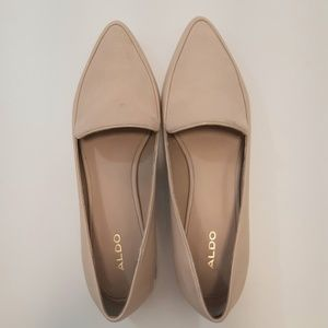 Aldo Flats with small gold heel detail